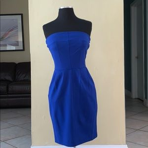 Express electric blue tight fitted dress✨💙